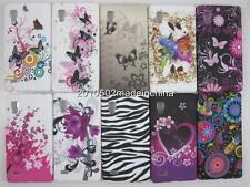 Soft TPU Butterfly Flower Heart silicion Case Cover For LG Optimus L9 P765 P760