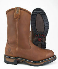 ROCKY RANCH WELLINGTON LEATHER WATERPROOF INSULATED WORK BOOT 2785 - ALL SIZES