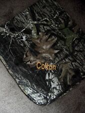 Personalized Newborn Infant Baby Realtree or Mossy Oak Camo Camouflage Blanket
