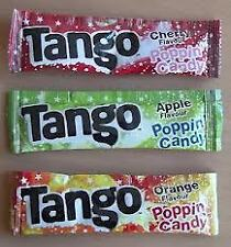 2, 3, 4, 5, 6, 10, 12, 15, 20, 30 Tango Popping Candy - Party Bag Filler