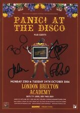 PANIC! AT THE DISCO Fever SIGNED Autographed PHOTO Print POSTER CD Shirt 001