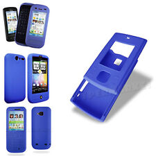 Wholesale Clearance Job Lot Sale Blue Silicone Gel Soft Mobile Phone Case Cover