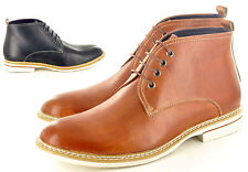 Mens Italian Style Genuine Leather Formal Chelsea  Ankle Boots  6 7 8 9 10 11 12
