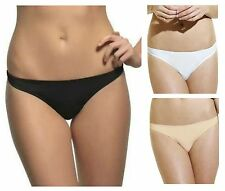 Panache Porcelain Soft touch Thong 3379 Black, White, Nude * New Lingerie