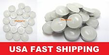 Lots 20/60/100 Unscented Tea Lights Candles Wholesale Economic For Essential Oil
