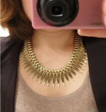 Hot Selling New Fashion Cute Alloy Leaves Choker  Bib Necklace  A1144
