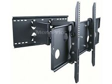 "Full Motion Dual Arm TV Wall Mount Bracket Fits/For 32-60"" LED, LCD, Plasma Flat"
