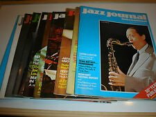 VINTAGE JAZZ JOURNAL MAGAZINES 1977 CHOOSE YOUR ISSUE/S