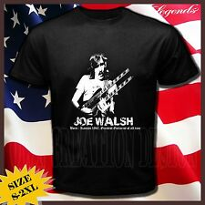 new JOE WALSH greatest guitarist  blues Rock Country CD Short Sleeve Tee T-SHIRT