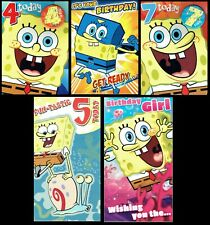 SPONGEBOB ~ BIRTHDAY or CHRISTMAS CARD Great selection of Cards or Wrap - L@@K