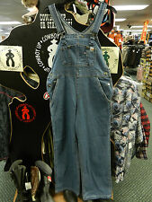 Carhartt Women's Denim Bib Overall Large Pockets Triple Stitched Durable