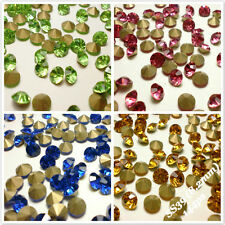 SS39 (8.2mm) Point back Rhinestones Crystal GLASS Chatons Strass 144ps