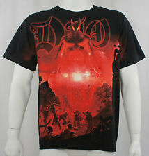 Authentic DIO Last in Line Allover Print T-Shirt S M L XL 2XL Ronnie James NEW