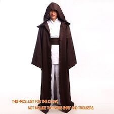 High Quality STAR WARS Unisex Jedi Cape Cloak Hooded Cosplay Costume Kid & Adult