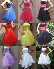 Short Prom Party Dress Ball Homecoming Gown Cocktail Party Evening Dress Sz 6-16