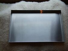 Stainless Steel Dog Crate Replacement Tray Pan Made to Fit Any Size Pet Crate