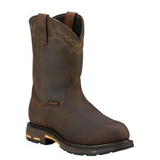 ARIAT Mens Workhog Pull-On Work Boots H2O Composite Toe 10001200 NIB