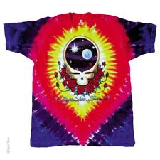New GRATEFUL DEAD Space Your Face Tie Dye T Shirt