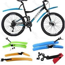 Cycling Mountain Bicycle Bike Front Rear Mud Guards Mudguard Fenders Set Hot