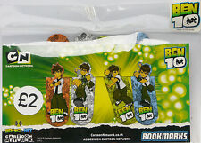 "BEN 10 - Ultimate Alien ""Bookmark Collection"" - NEW"