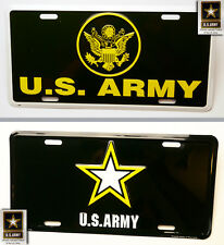 US ARMY - Official Vehicle United States Army Front Number Plate - ORIGINAL