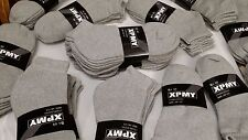 2 Dozen (24 PAIRS) MENS WHITE SOCKS/ANKLE LOW CUT COTTOM SIZES 9-11/10-13