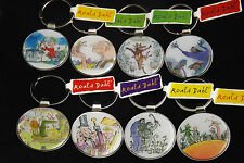 Roald Dahl Keyrings BFG, The Witches, Charlie and the Chocolate Factory