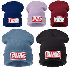 COMME HAT WOOLLY BEANIE TSHIRT SNAP BACK SWAG DISOBEY WASTED YOUTH BLACK BEANIE