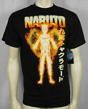 Authentic NARUTO SHIPPUDEN Bijuu Mode Anime T-Shirt S M L XL XXL NEW