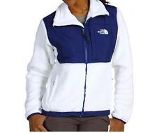 The North Face Womens Denali Thermal Jacket Soft Fleece Coat White NEW
