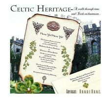 qty 50 Irish Claddagh Scroll Wedding Party Invitations Invites