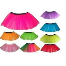 Neon Tutu Skirt Many Colours 8-14 One Size Hen Night Fancy Dress Accessory