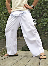 Thai fisherman trousers. 100% cotton Full Lenght and 3/4 length. UK Seller.