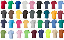 25,50 or 100 Gildan Blank T-Shirts  Bulk Wholesale S-XL White or Colors, 2000