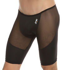 Big sale Sexy New Mens See-through Underwear Lingerie Home Pants Shorts 4Colors