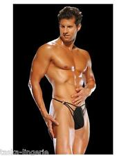 ATHLETIC MALE STRIPPER G-THONG SEXY UNDERWEAR, S/M or L/XL, BLACK, FREE SHIP USA