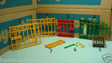 Playmobil 4855 trailer 3634 animal shelter flag feeder fence door CHOOSE ONE 181
