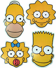THE SIMPSONS - FUN LICENSED FACE MASKS - 4 TO CHOOSE FROM - FREE P&P