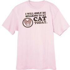 Only Speaking to My Sphynx Today Funny Novelty T-Shirt Z13265