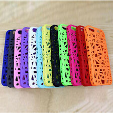 1pcs Birds Nest Woven Rubberized Hard Thin Case Cover for iPhone 5 5G