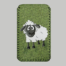 Sheep,Grass Mobile PHONE CASE POUCH Fits Sony xperia U,S, E, J, Z ,Micro,Tipo,