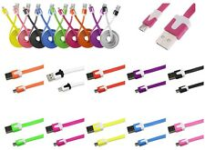 CABLE MICRO USB 1M SYNCHRO 11 COULEURS CHARGEUR SAMSUNG GALAXY ACE S2 S3 S4 Mini