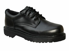 Man's Black Leather Work Shoes (Non Steel Toe, item 405B)
