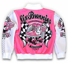 Six Bunnies Kinder Jacke Roller Skate College Oldschool Rockabilly Tattoo Kustom