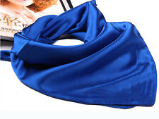 Fashion Women's Silk With Spinning Mini Scarves Smooth Shawl Elegant Neckerchief