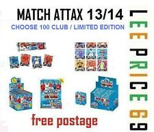 MATCH ATTAX 13/14 CHOOSE YOUR HUNDRED / 100 CLUB OR LIMITED EDITION CARDS