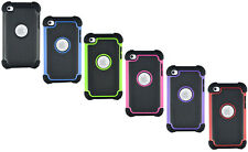 Heavy Duty Rugged Hard Case Cover For Apple iPod Touch 4 4th Generation Gen