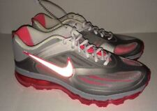 NEW Mens 9.5 NIKE AIR MAX Ultra 365 Silver Solar Red Grey Running Training Shoes