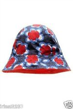 Next Baby Girl`s Navy and Red Reversible Fisherman`s Hat Size 3-6,6-12mths,1-2yr