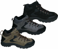 Mens New Hiking Walking Trail Rambling Boots Size Free UK Shipping